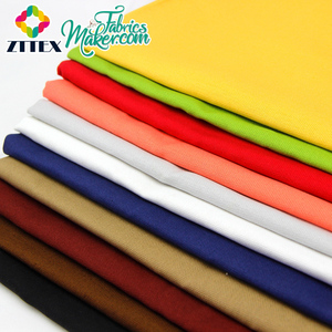 wholesale custom 100 cotton colored dye print canvas fabric from china supplier