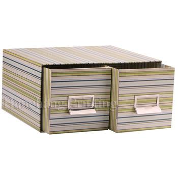 durable cardboard dvd storage box