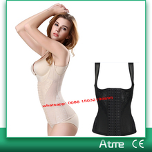Waist Trainer Back Support Girdle Body Shaper Vest Waist Cincher Under Bust Corsets Girdles