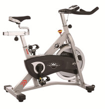 belt-driven gym Professional Spin Bike Indoor Cycle Exercise Bike With 18kg Flywheel