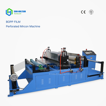 Sinohs CE ISO Plastic Bopp Film Perforation Machine, Holiday Promotion!