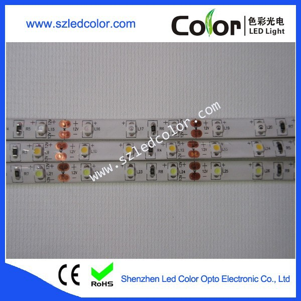 600pixel/roll SMD3528 5 color optional flexible decoration led strip