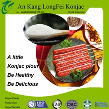 Hot sale pure konjac powder Healthcare sausage