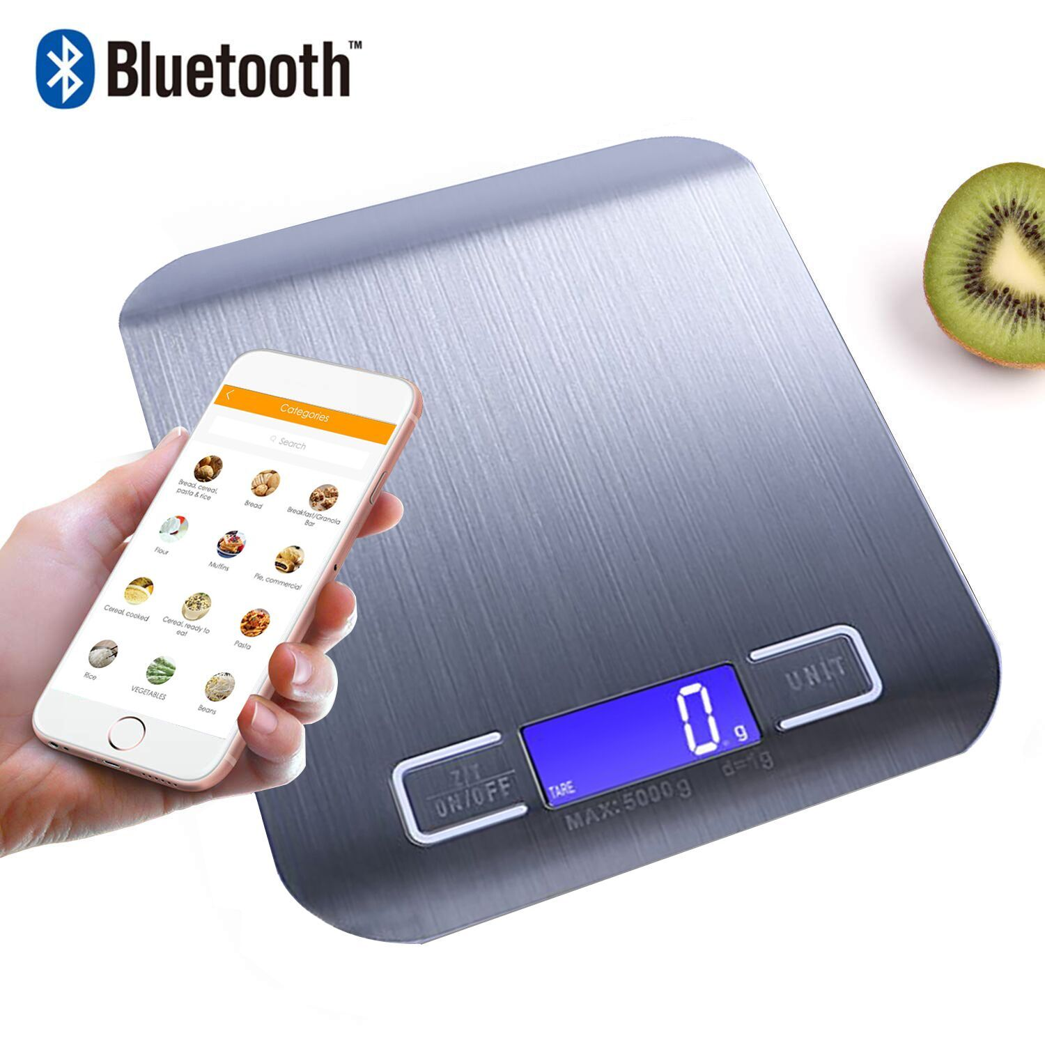 Fashion customized design LCD display electronic scales Household kitchen scale