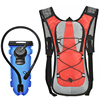 Large storage reflective hydration rainproof sports backpack for outdoor activities