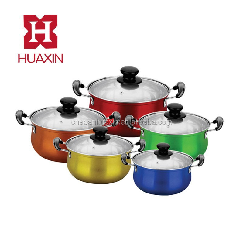 Stainless Steel cookware set 10pcs