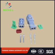 2 way waterproof plugs and receptacles DT series connector 20 AWG contacts deutsch connector kit