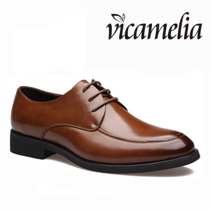 2016 Genuine Leather Wholesale China Cheap Price Big Size 37-47 Men Dress Shoes
