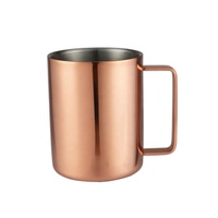 Facoty Sell High Quality Stainless Steel 304 Drinking Cup Copper Mug