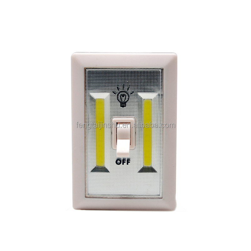 2019 Closet Light Switch- Dry Battery Operated Night Light,Emergency Light for Wall Wireless Mount Under Cabinet