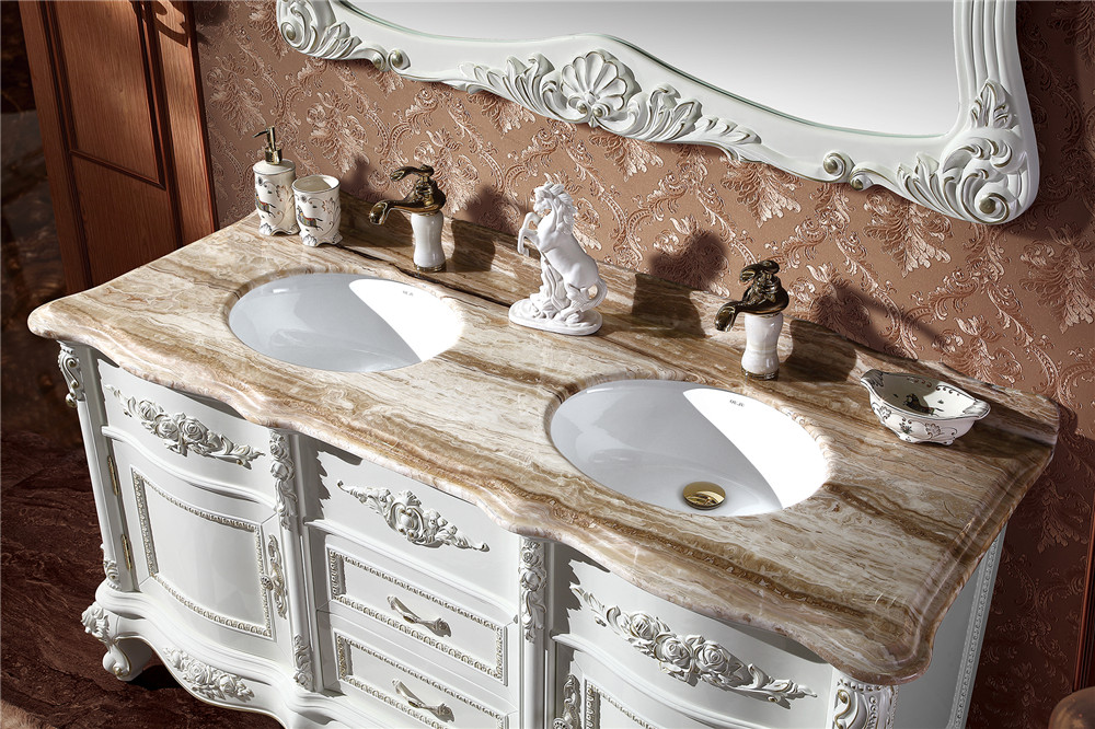 63 Inch Canada Style Bathroom Vanity Units,Double Sink ...