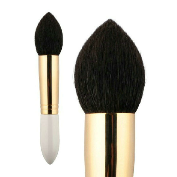 Hair highlighting brush source quality hair highlighting brush top goat hair cosmetic powder brush makeup facial powder brush blush brush highlight brush pmusecretfo Choice Image