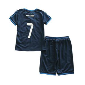 a8ac7a6b2 Custom DIY your kids team football jersey cheap soccer wear uniform sets