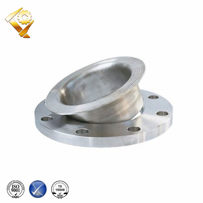 China manufacturer precision casting parts stainless steel loose flange raised face lap joint flange