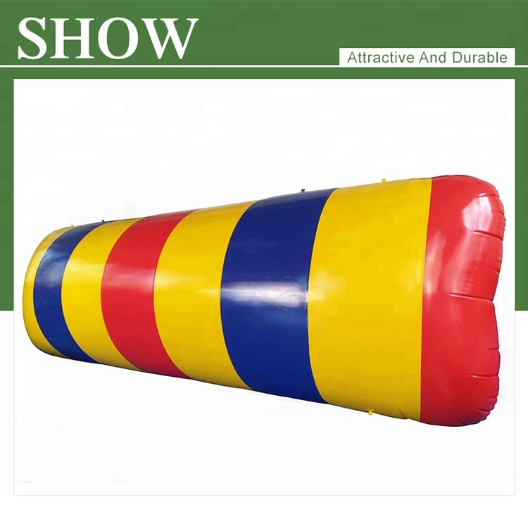 2019 Colorful Adults High Jump Launcher Inflatable Water Blob for Sale