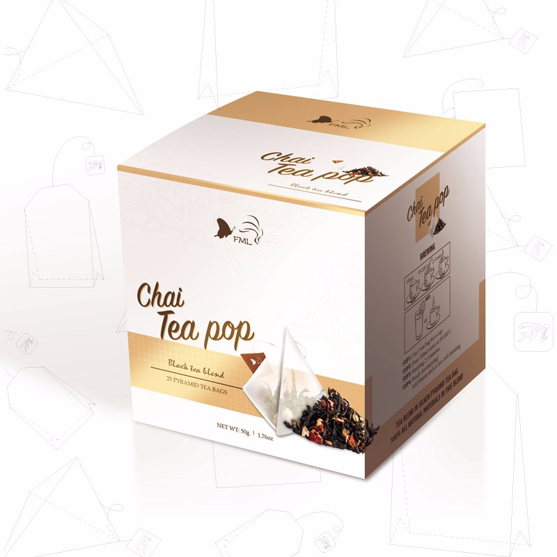 Chai Tea pop,milk tea and black tea for digestion and slimming - 4uTea | 4uTea.com