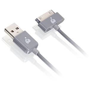 "Iogear, Inc - Iogear 3.3Ft (1M) Usb To 30-Pin Cable - Usb/Proprietary For Ipad, Ipod, Iphone - 3.28 Ft - 1 Pack - 1 X Type A Male Usb - 1 X Male Proprietary Connector - Gray ""Product Category: Hardware Connectivity/Connector Cables"""