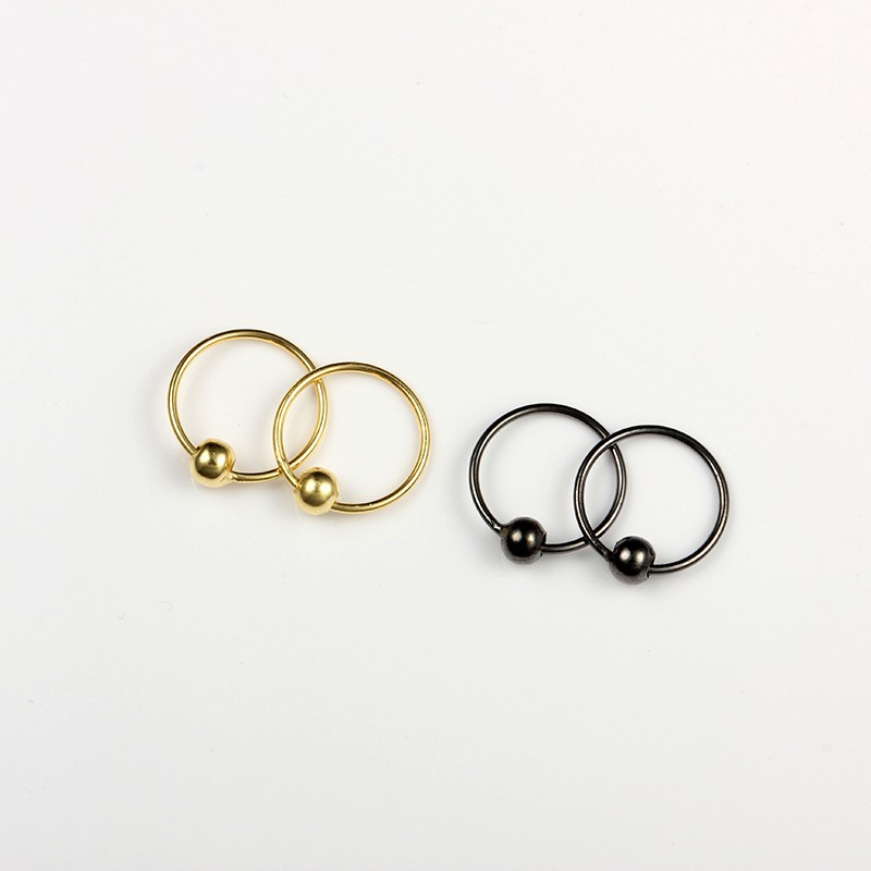 1 5 Mm 20pcs Box 925 Sterling Silver Piercing Nose Sexy Nose Piercing Nose Ring Gold Buy Nose Ring Gold Indian