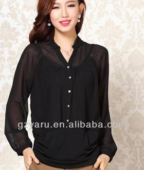 cd046b95540b1b Pictures Of Latest Womens Semi Formal Tops And Blouses - Buy Womens ...