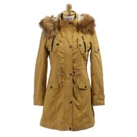 latest fashion style womens long winter coats used long winter coats women jacket with fur collar