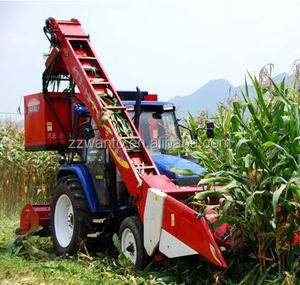 Agriculture small home use maize harvester /corn harvesting machine with tractor