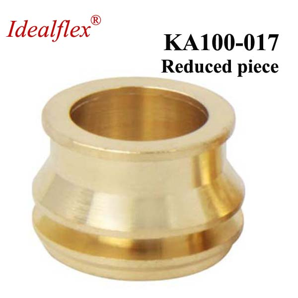 Idealflex 3 part brass ferrule fittings reduced piece
