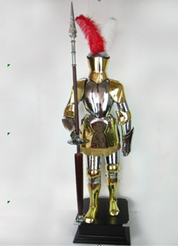medieval full suit of armor spanish knight armour suit ancient