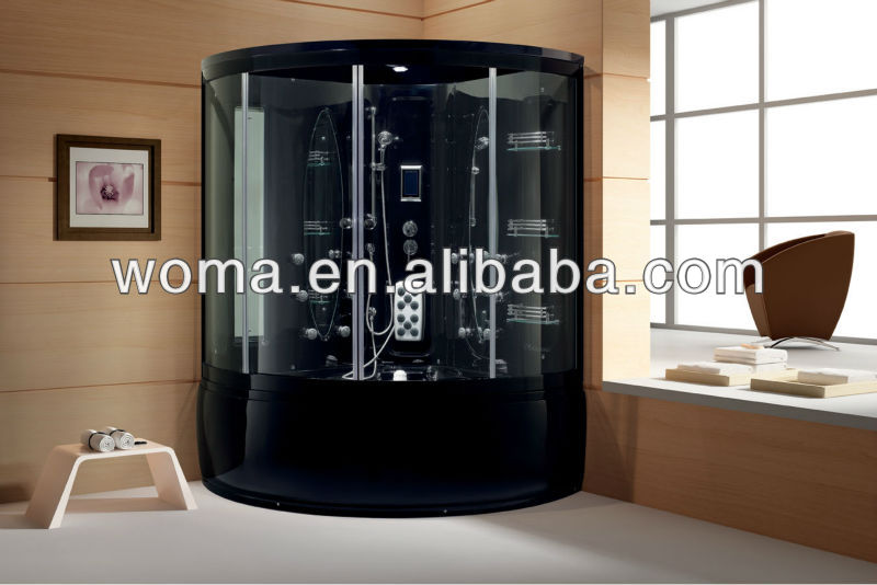 Cabina Sauna Vapor : Woma y acrílico portable cabina de sauna bañera de vapor salas