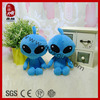 Stuffed ICTI SEDEX Plush Baby Toy Blue Monster Toy