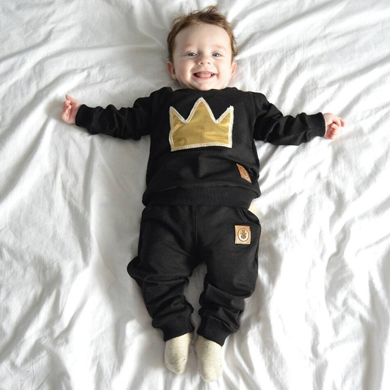 68888de7d China Barato Ropa De Bebé Niño Con Simple Moderno Sudadera Con Capucha Y  Pantalones - Buy Ropa De Bebé