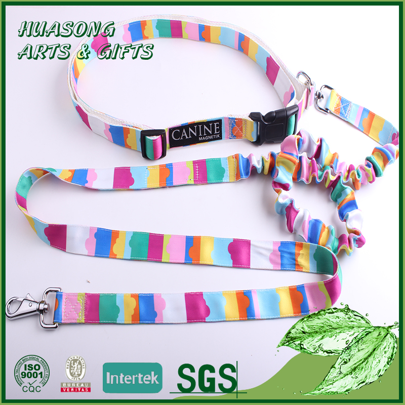 Factory direct custom sex women nylon dog collars and leashes