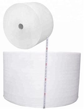 "6mm 1/4'' EPE Foam Wrap Roll Cushiong Material 0.6X 38m 24"" x 125'"