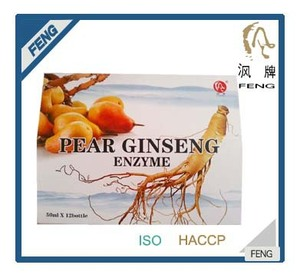 private label energy drink - pear ginseng enzyme