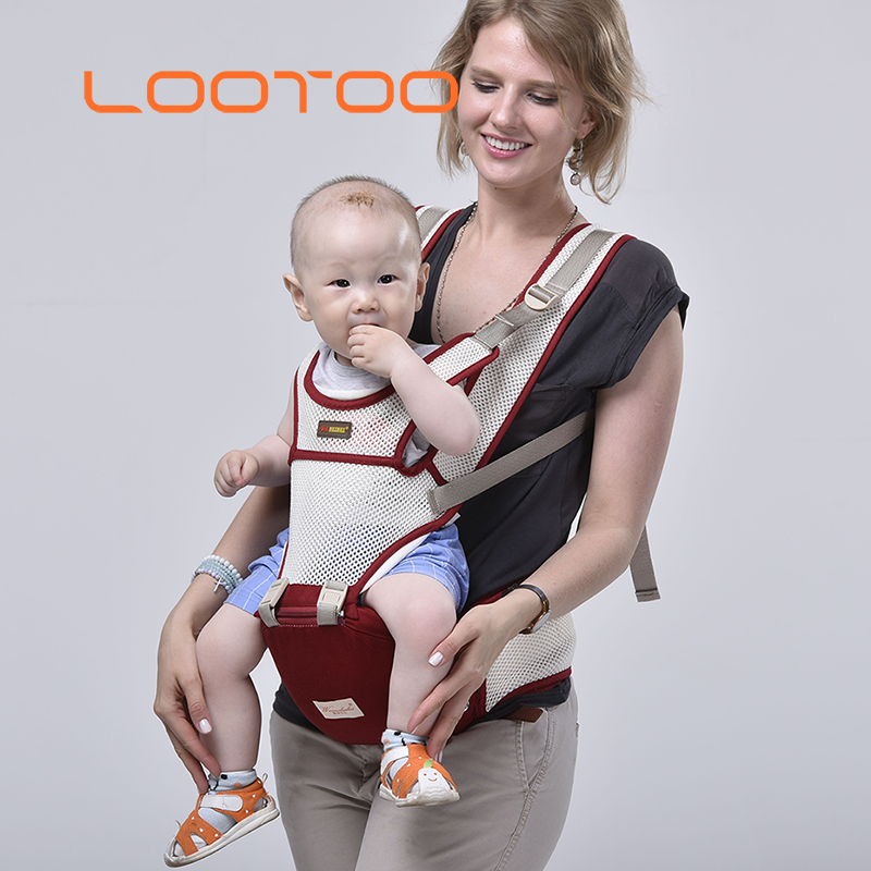 Custom design best adapt air mesh waist seat hipseat toddler baby carrier 3 in 1 for usa canada uk