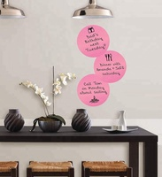 Custom Dry Erase White Board Marker Removable Vinyl Dot Circle Set /wall decals /wall planner