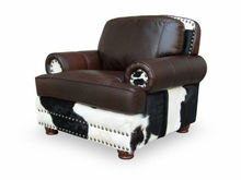 Cow Hide Leather Sofa Chair ST1051-1s