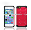 Pc+silicon Case For Apple Iphone 5c,For Iphone 5c Hybrid Mobile Phone Case,For Iphone 5c Hard Plastic Case