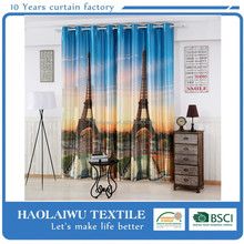High quality 3D blackout hospital curtain designs