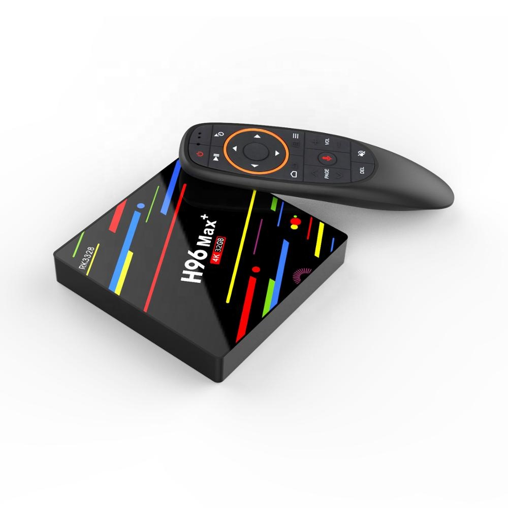 PVISON Downloaden Handleiding voor H96 Max + Dual Wifi Android 9.0 Voice Control 2/4 GB 16/ 32/64 GB TV Box Rockchip RK3328 H96 Max +