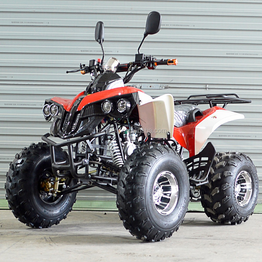 49cc,110cc,125cc atv with offroad aluminum wheel with roof
