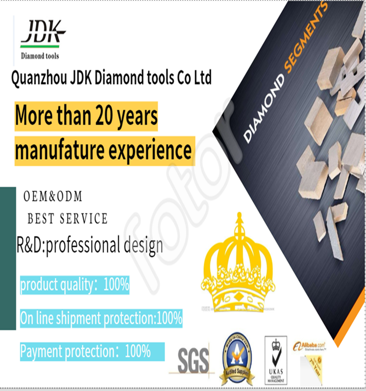 JDK Diamond Abrasive Round Brush for Processing Surface