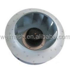 Moderate price 190mm AC motorized radial fan centrifugal impeller