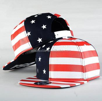 d5b84bf6803 Hot Sale Mens Baseball Cap Flag Design  Men Hip Hop Snapback Cap Hat With  USA