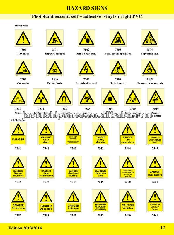 hazard sign imo symbols buy imo symbol hazard sign product on