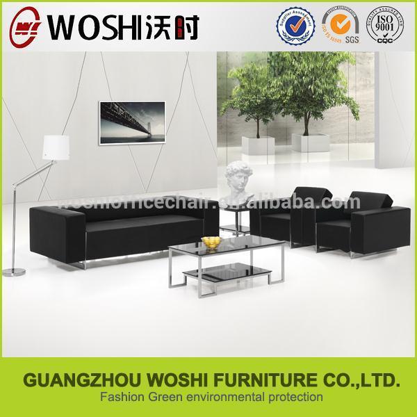 Mobili moderni di alta estremit nera divani componibili for Divano ufficio