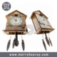 Wooden Cuckoo Bird Wall Clock for Sale