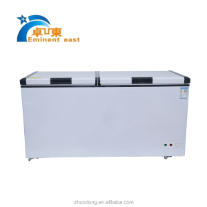 400L 12v/24v commercial refrigerator solar chest freezer