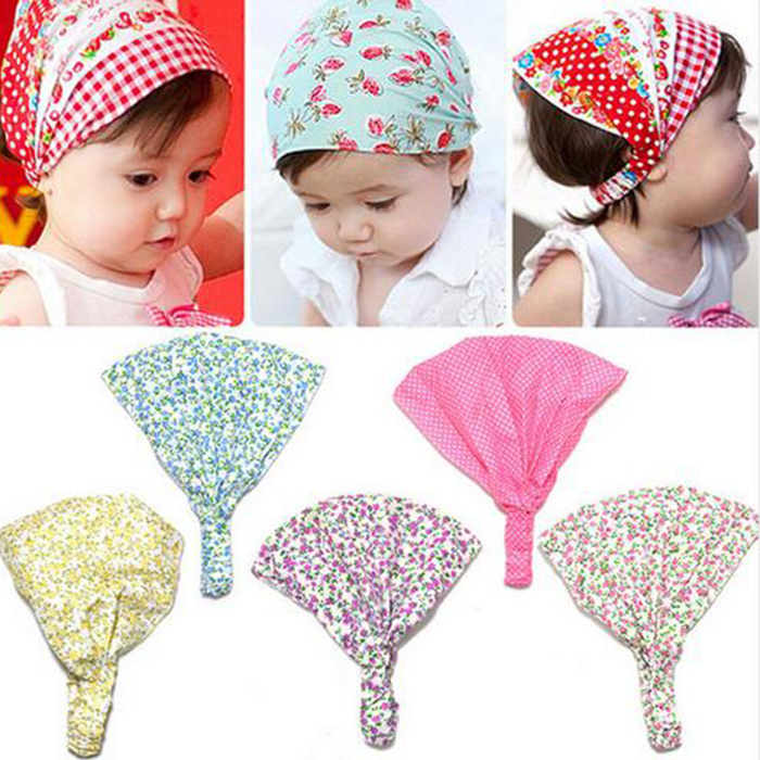 New Arriva Newborn wearing accessories FOR Flower Headband Bandana