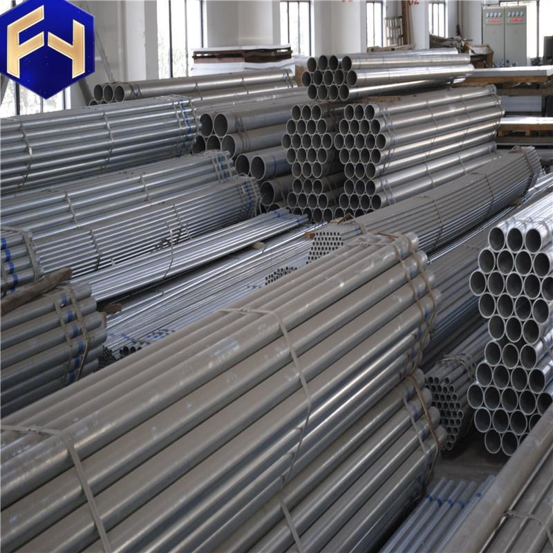 construction materials from china Galvanized cleaning 150mm diameter seamless gi pipe products