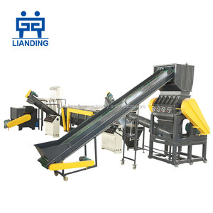 Factory direct sale 1000kg/h pe film washing machine / pe plastic recycling line
